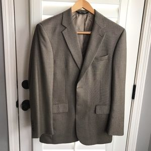 Jos A Bank, Sports Coat Jacket 100% Wool Sz 40R